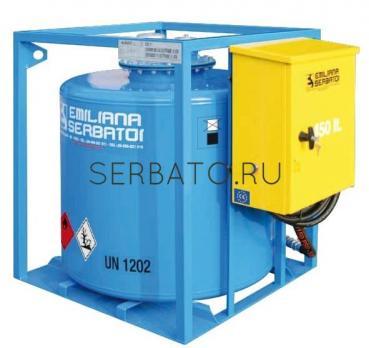 Traspo 250 резервуар с шаровым краном